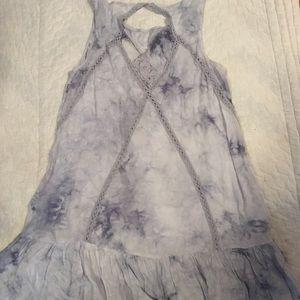 Tie dye summer dress/tunic